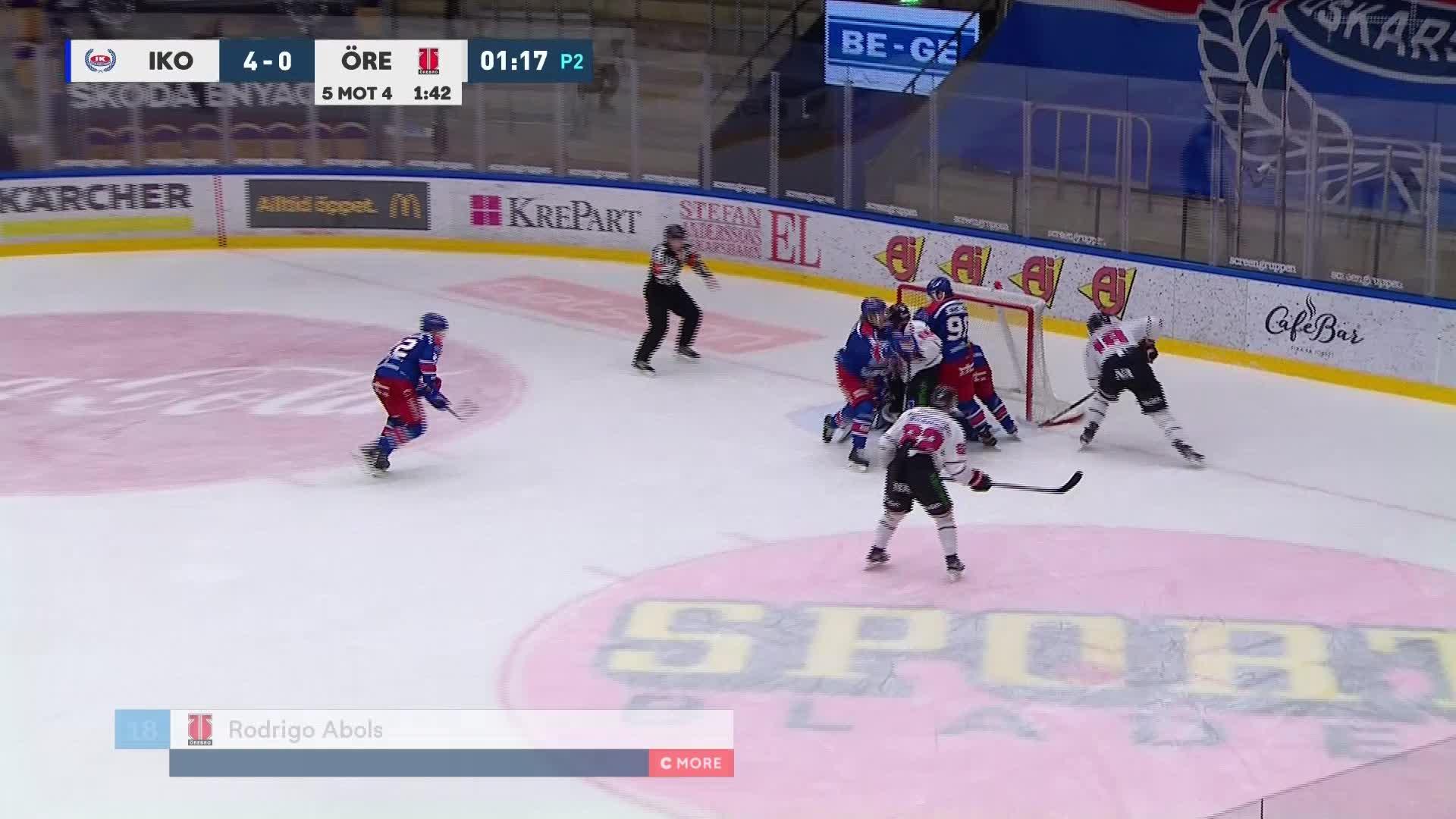 IK Oskarshamn - Örebro Hockey 4-1