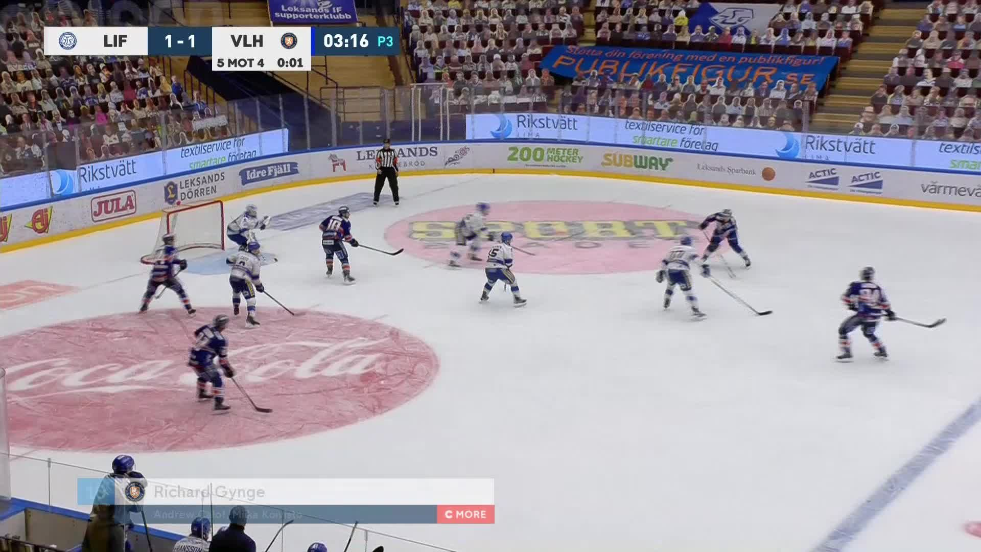 Leksands IF - Växjö Lakers 1-2