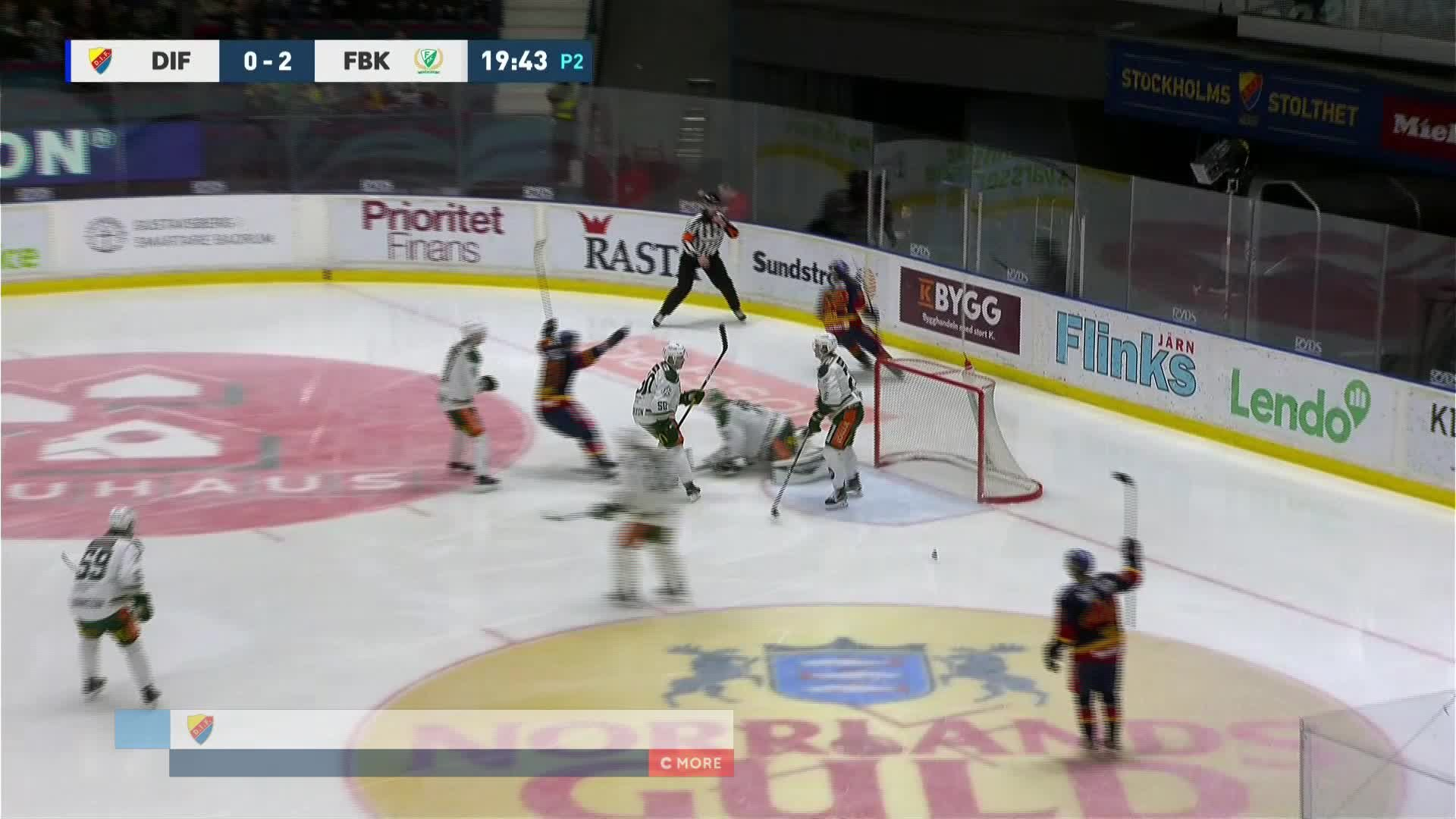 Djurgården Hockey - Färjestad BK 1-2