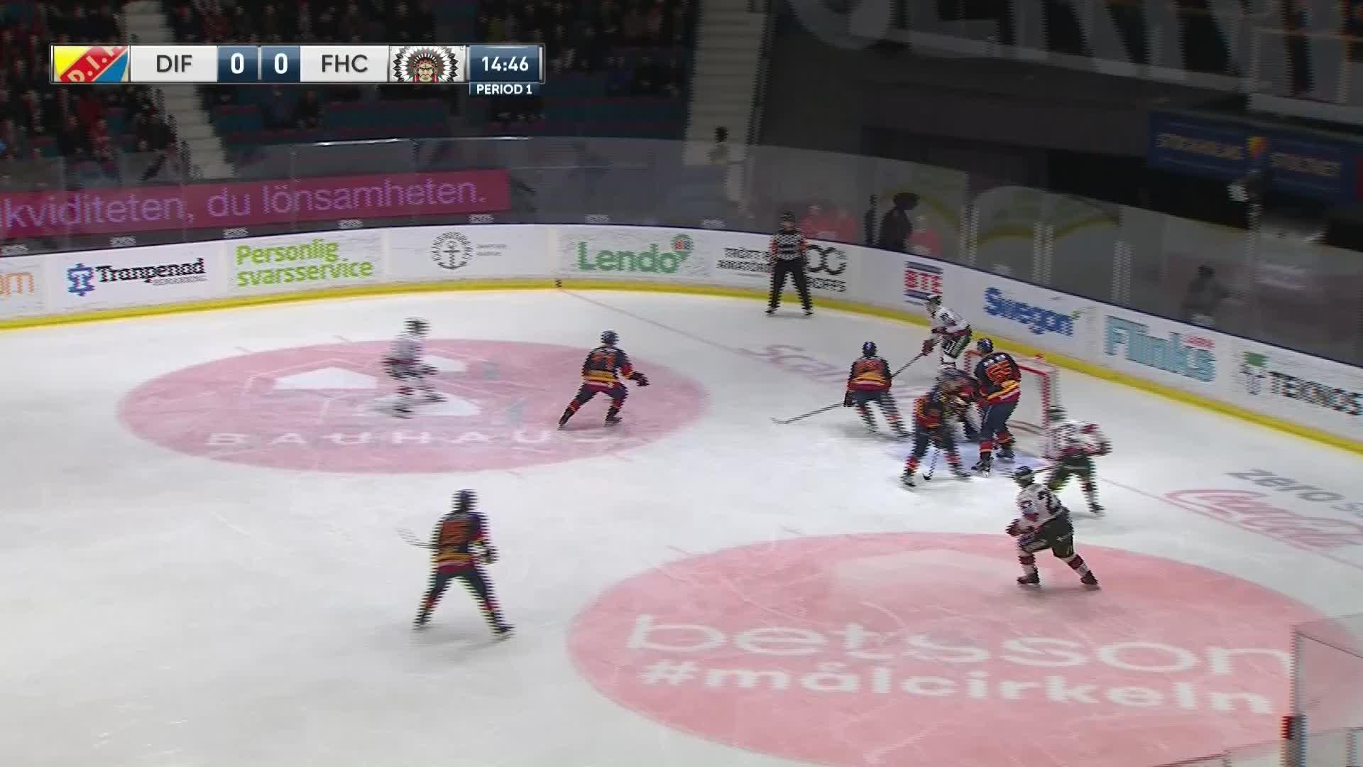 Djurgården Hockey - Frölunda HC 0-1