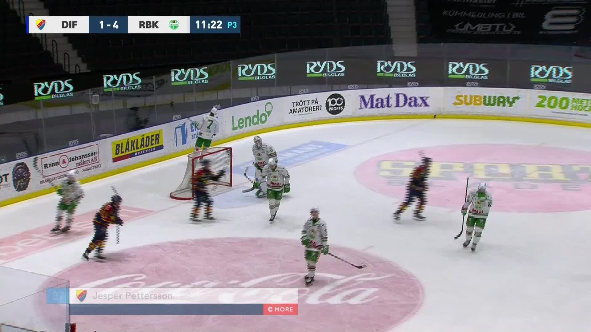 Djurgården Hockey - Rögle BK 2-4