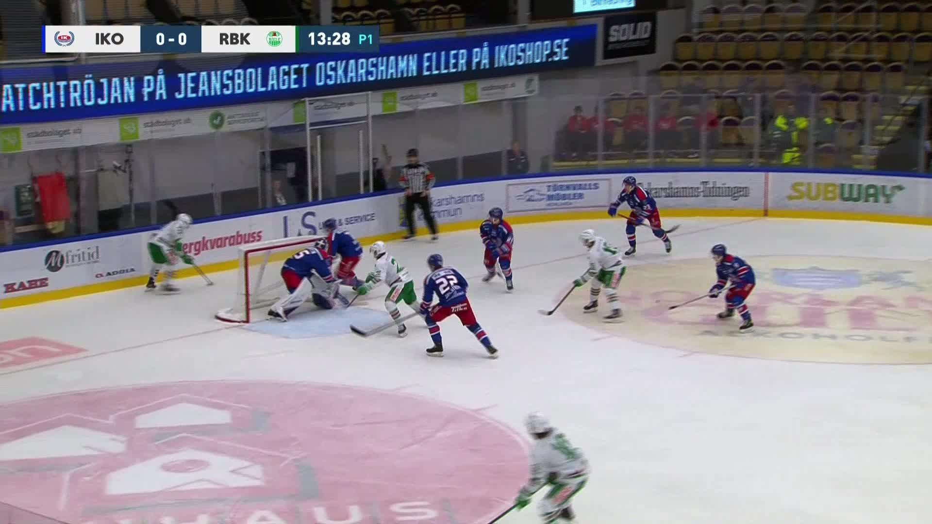 IK Oskarshamn - Rögle BK 0-1