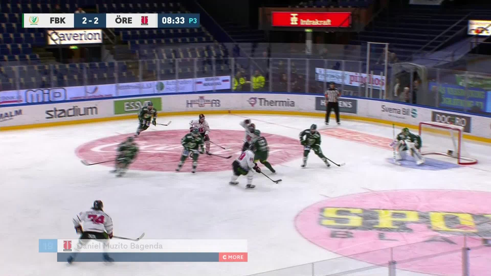 Färjestad BK - Örebro Hockey 2-3