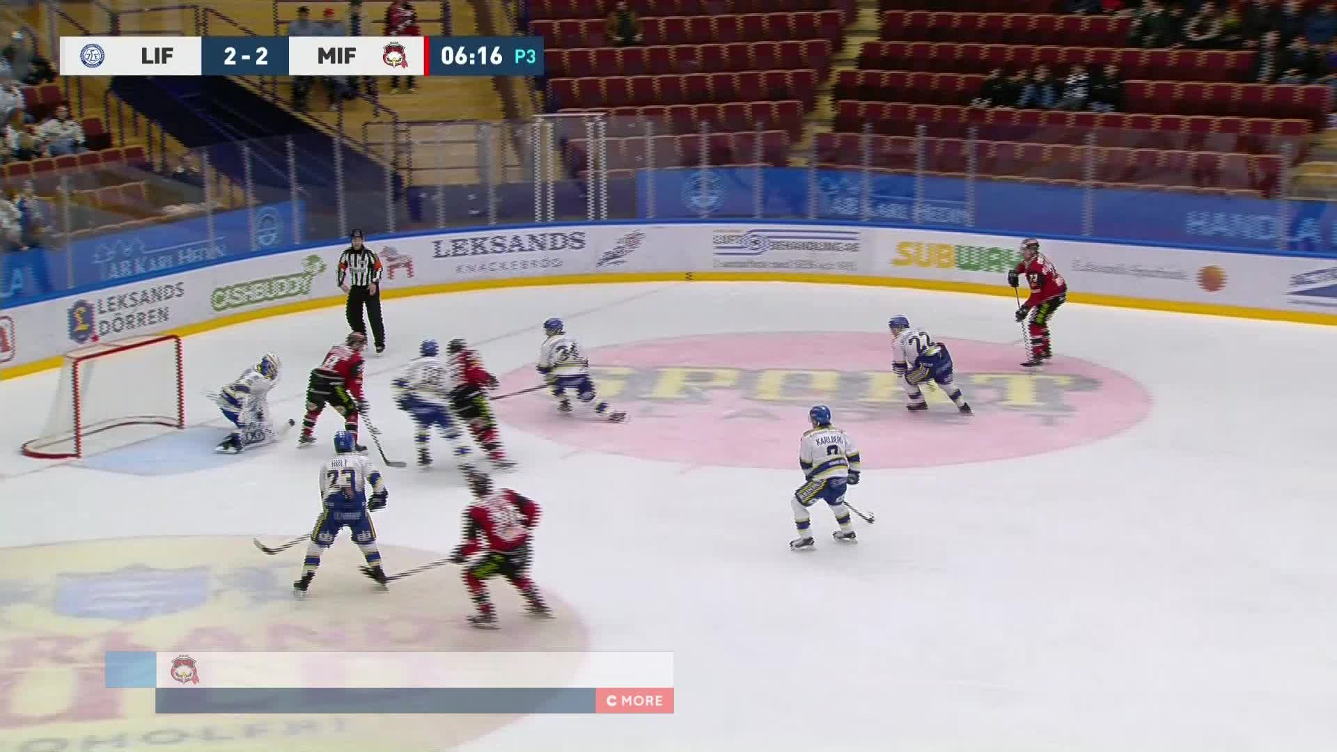 Leksands IF - Malmö Redhawks 2-3