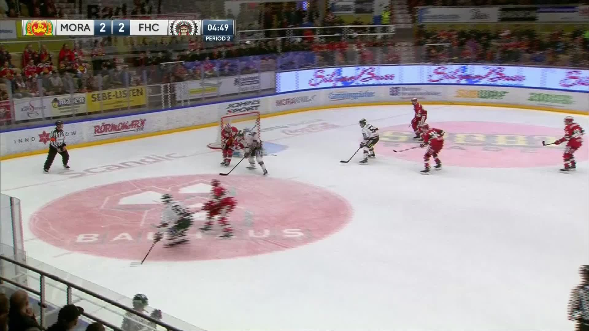 Mora IK - Frölunda HC 2-3