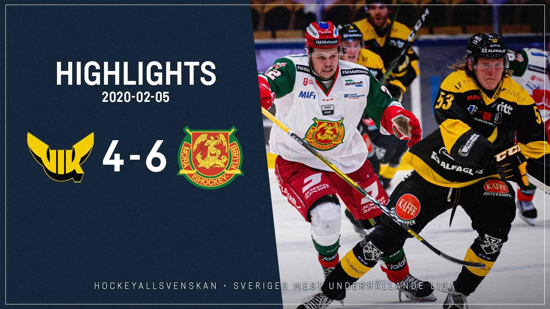 2020-02-05 Västerås - Mora 4-6