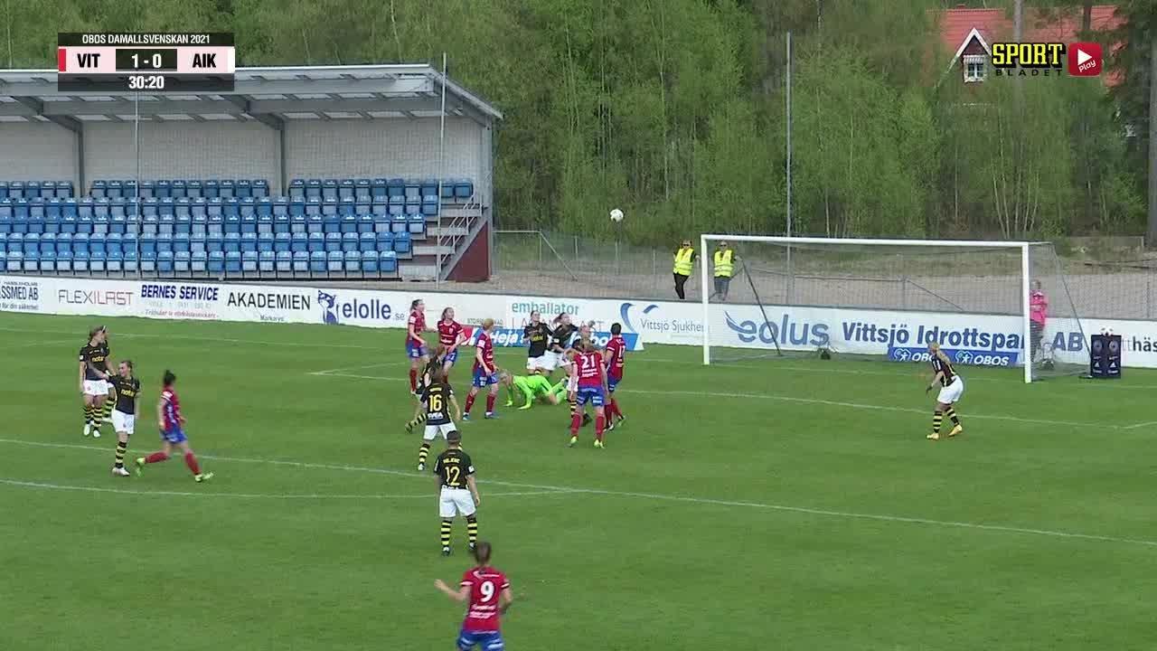 Highlights: Vittsjö GIK - AIK
