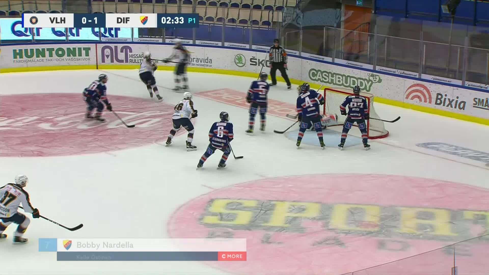 Växjö Lakers - Djurgården Hockey 0-2