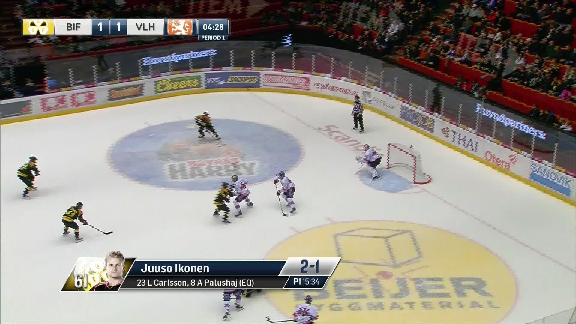Brynäs IF - Växjö Lakers 2-1