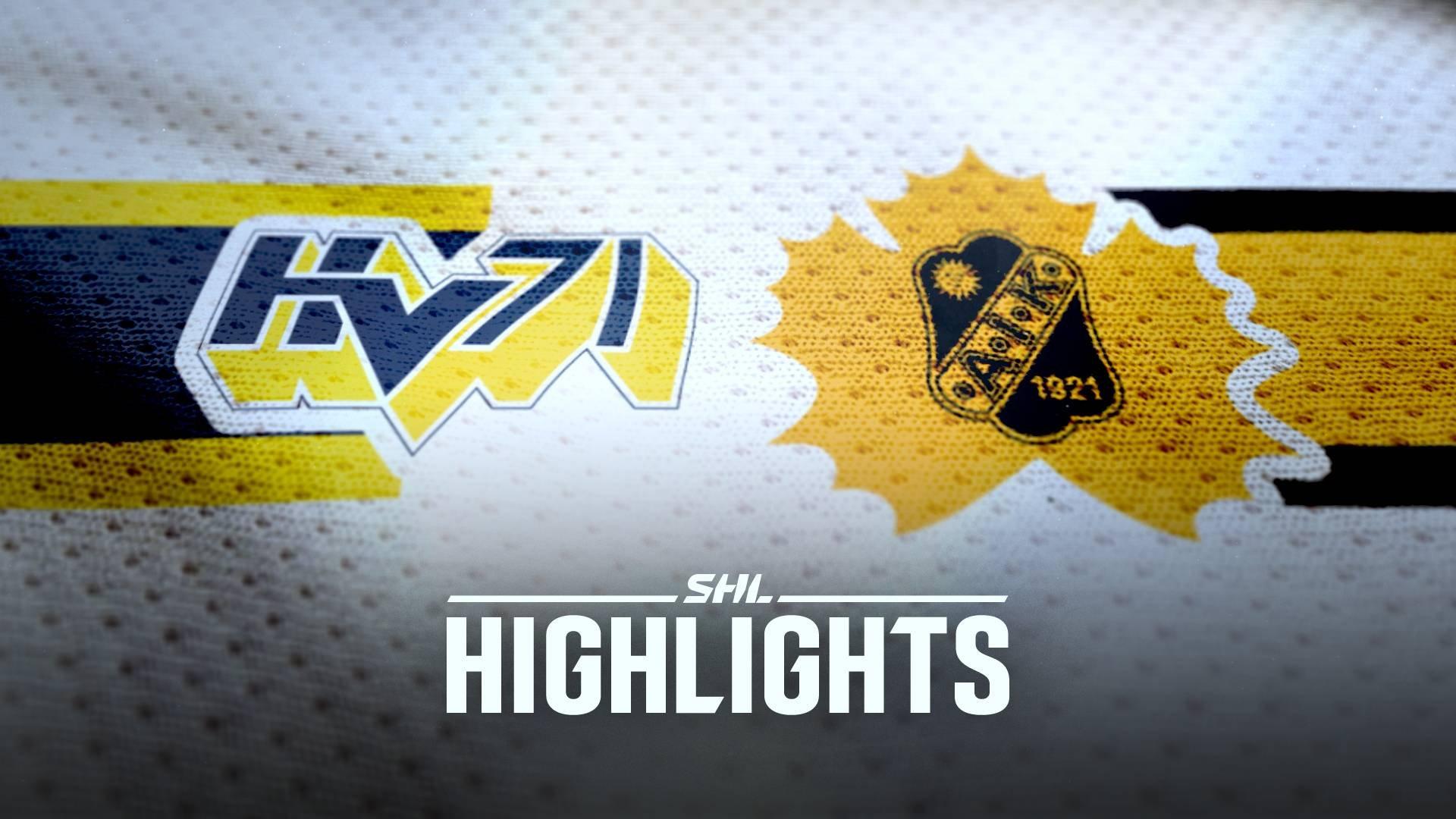 HV71 - Skellefteå AIK