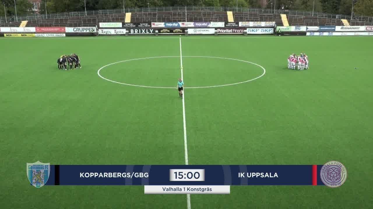 Highlights: Kopparbergs/Gbg - Uppsala 11 okt