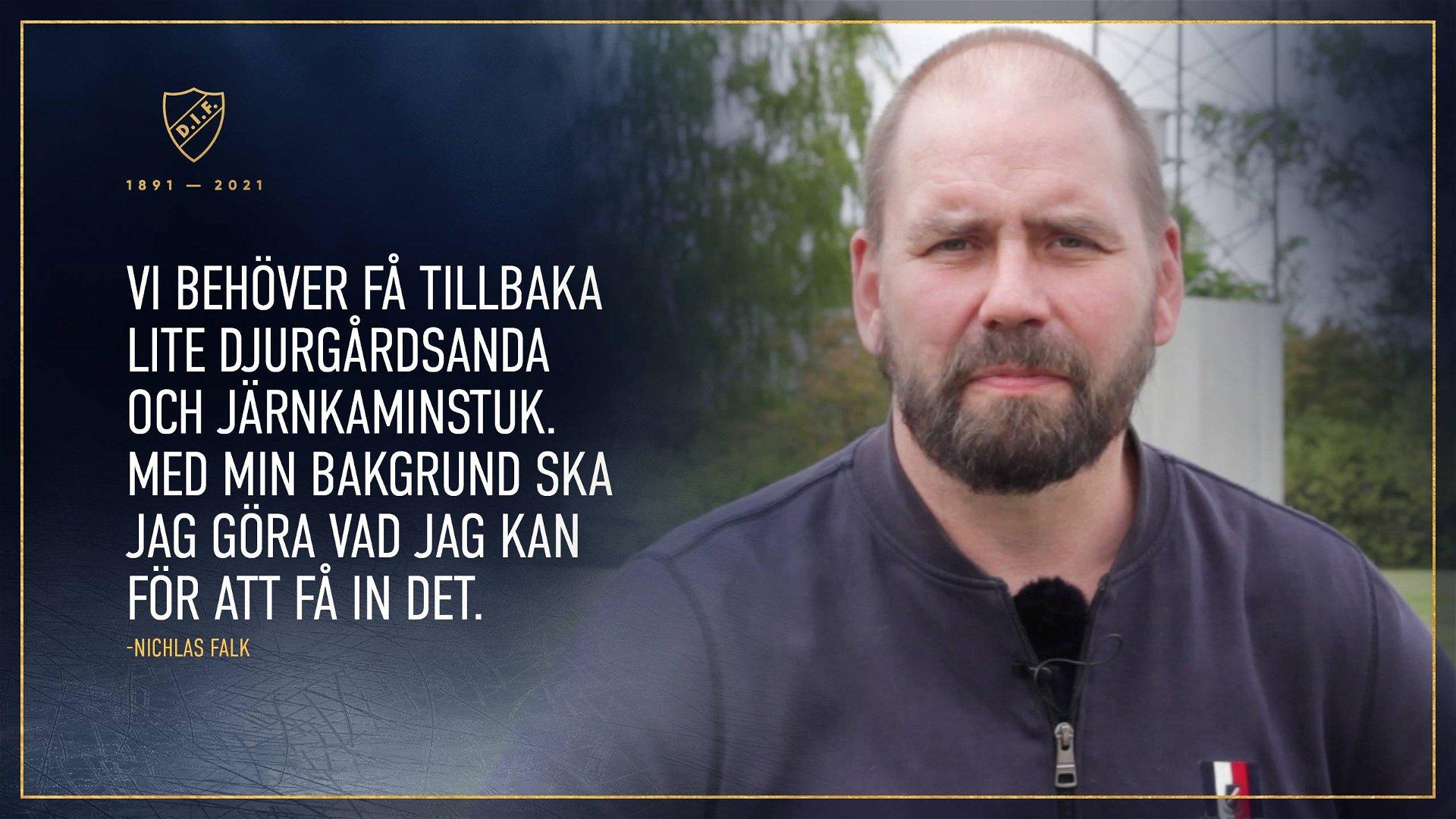 Intervju med Nichlas Falk