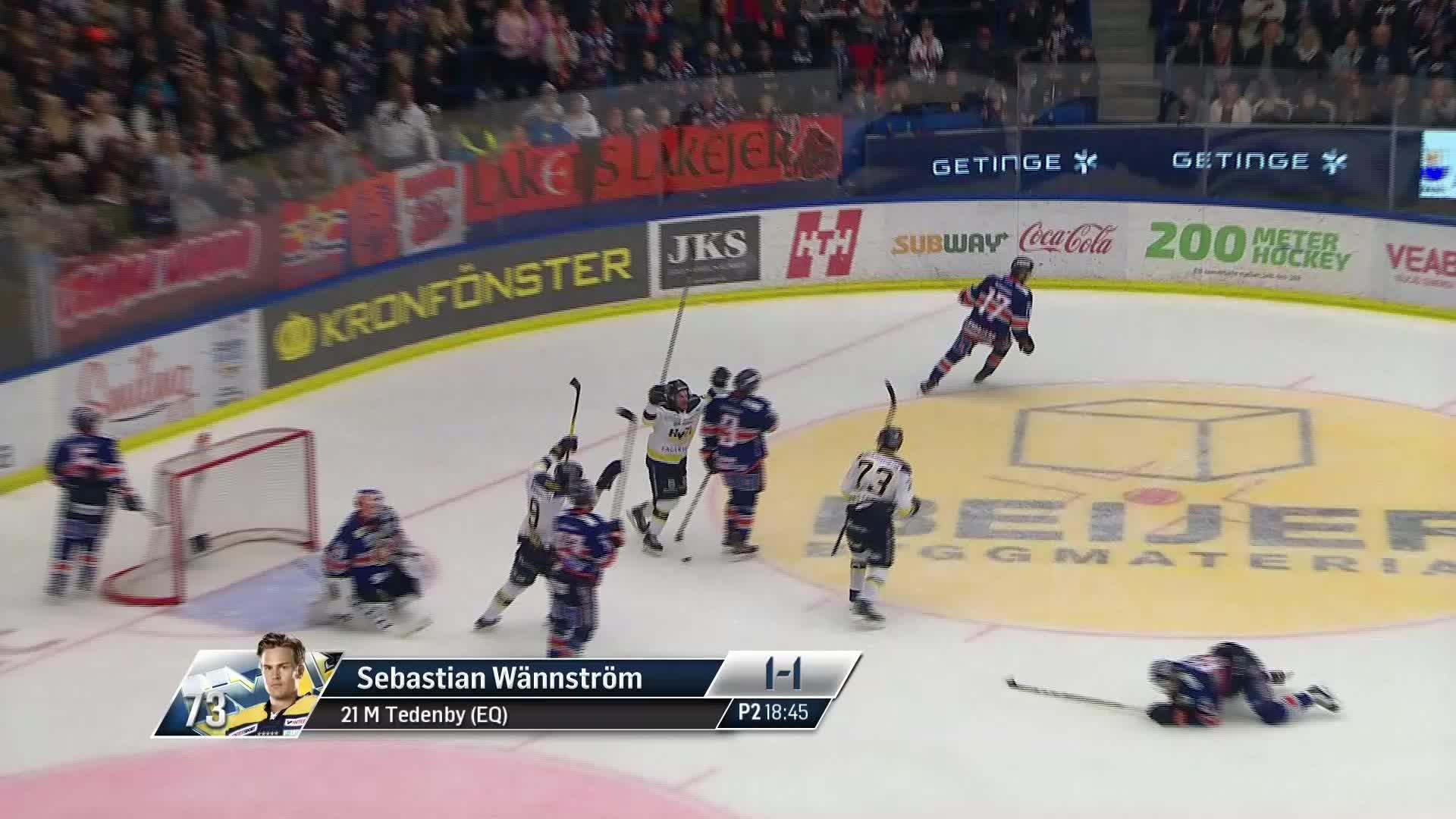 Växjö Lakers - HV71 1-1