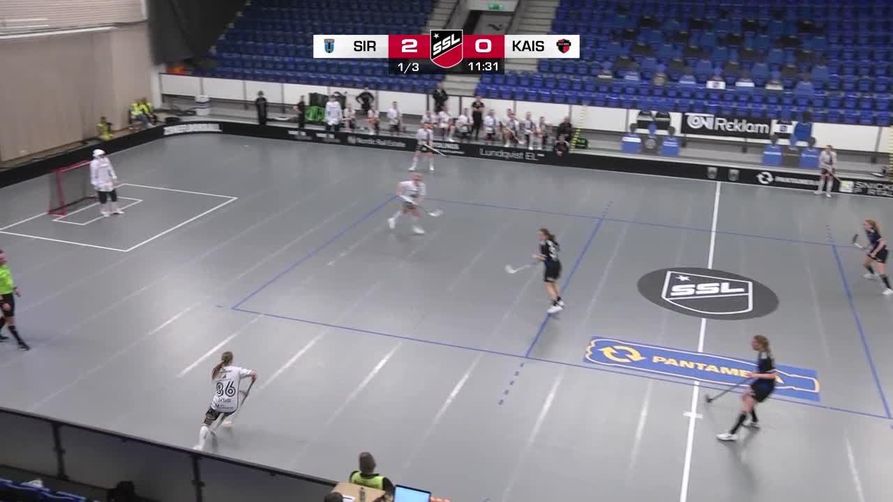 Highlights: Sirius Innebandy-KAIS Mora IF