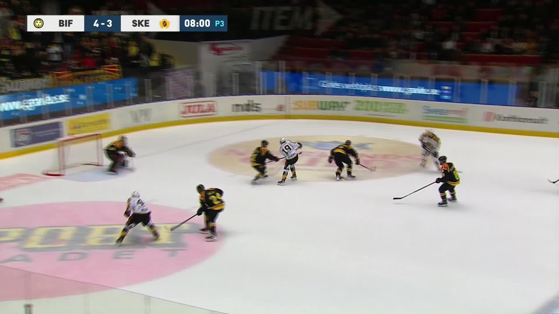 Brynäs IF - Skellefteå AIK 4-4