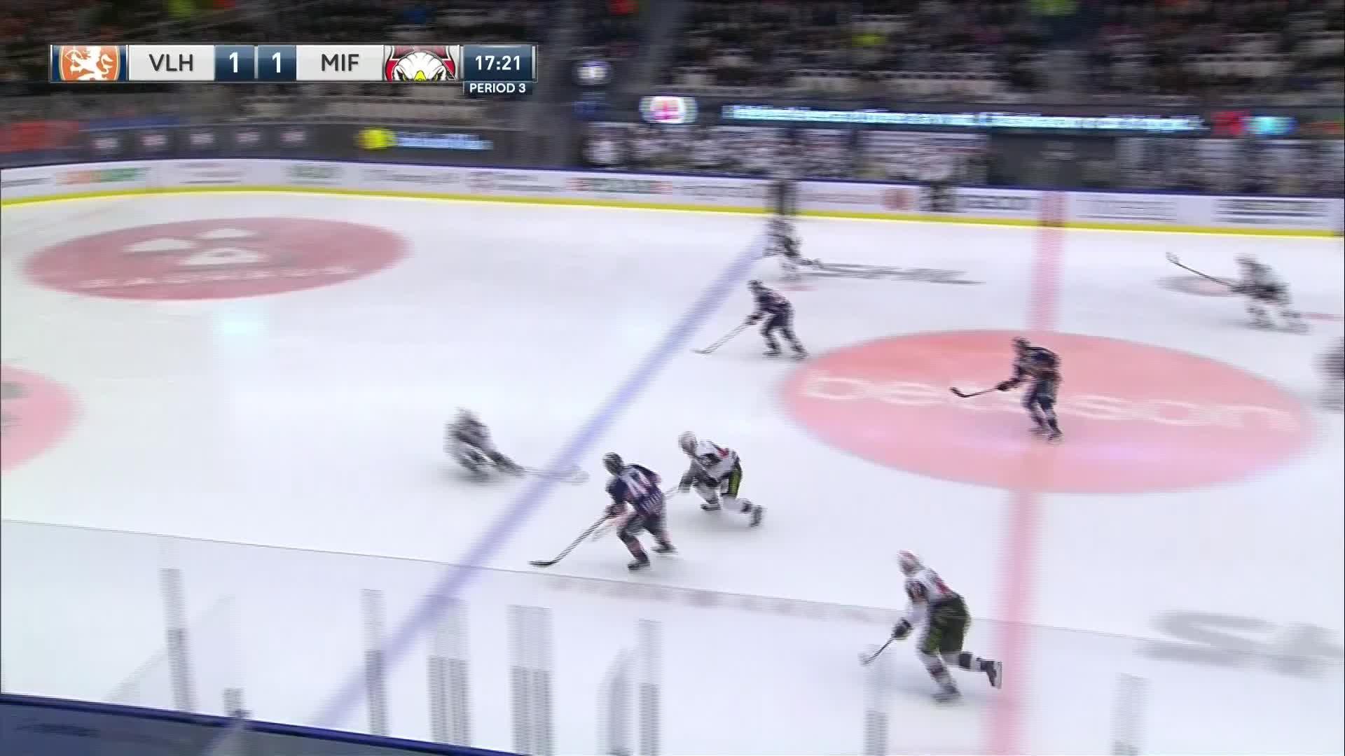 Växjö Lakers - Malmö Redhawks 2-1