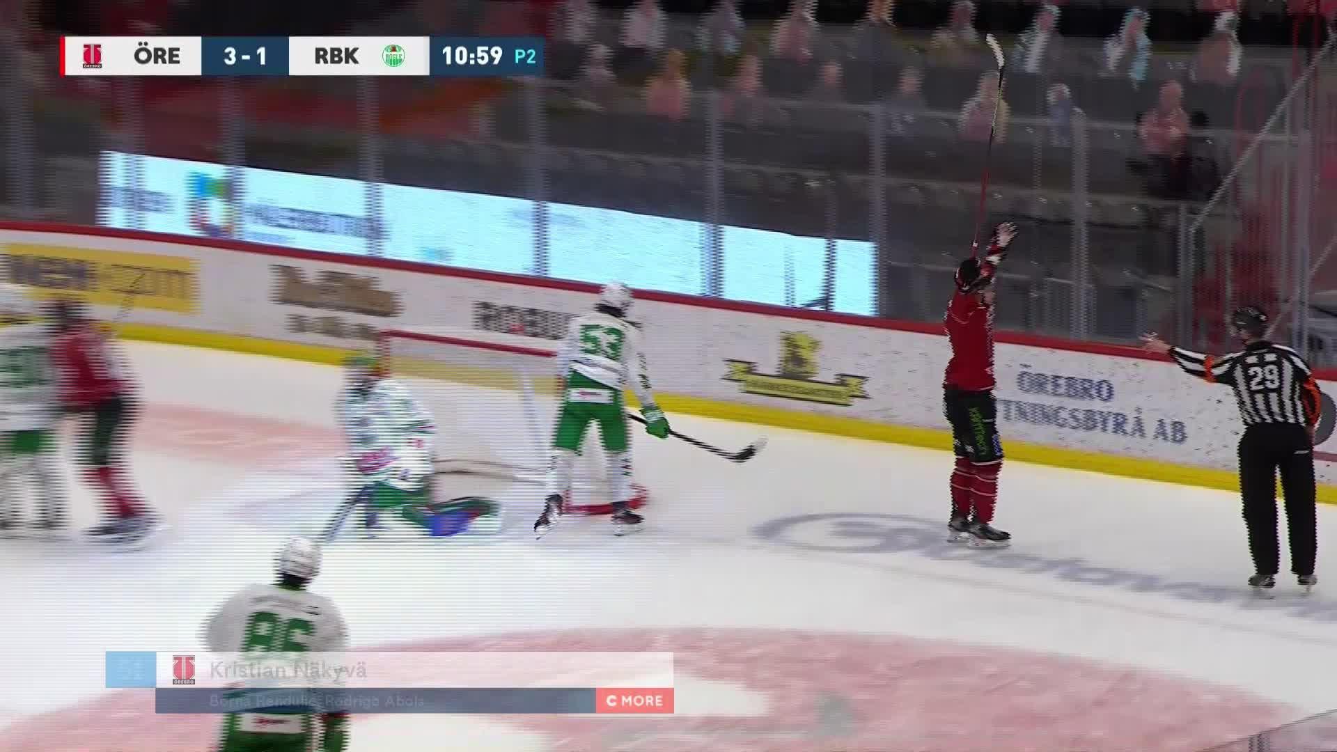 Örebro Hockey - Rögle BK 4-1