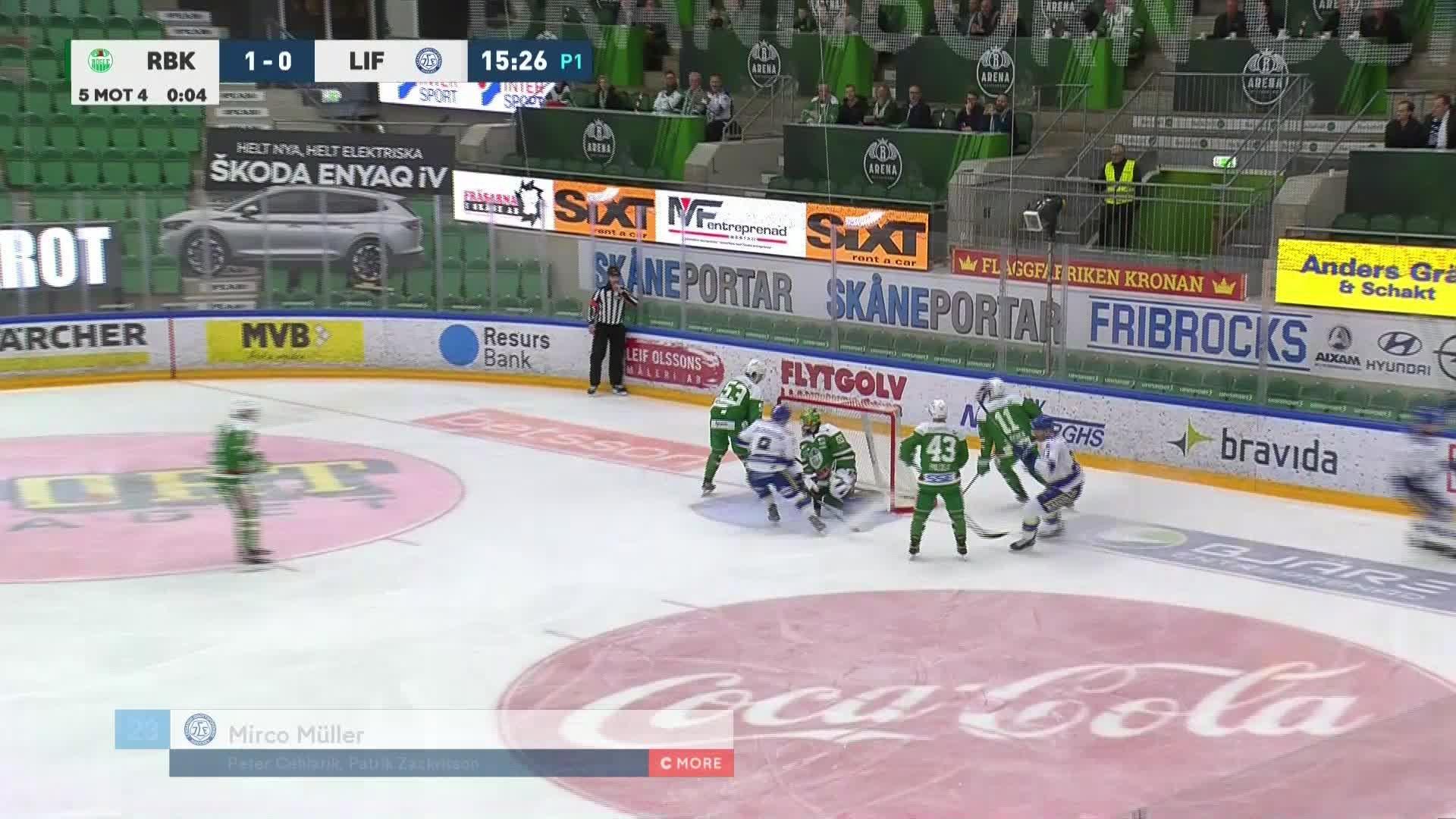 Rögle BK - Leksands IF 1-1
