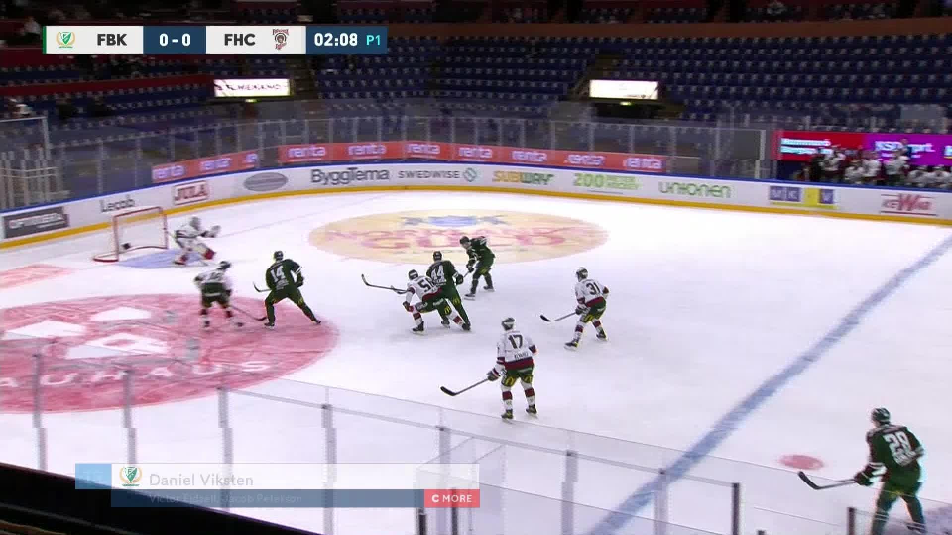 Färjestad BK - Frölunda HC 1-0