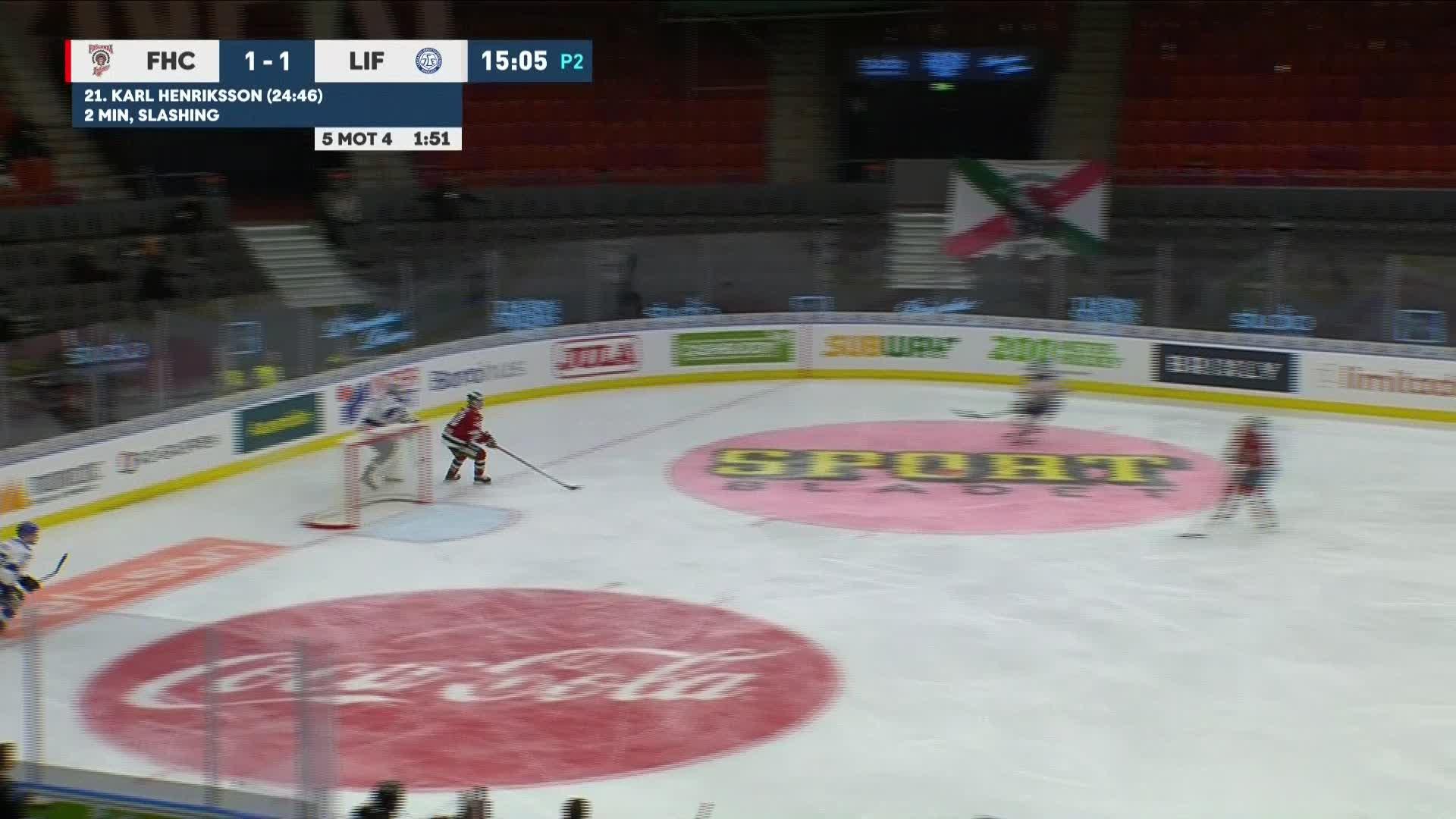 Frölunda HC - Leksands IF 1-2