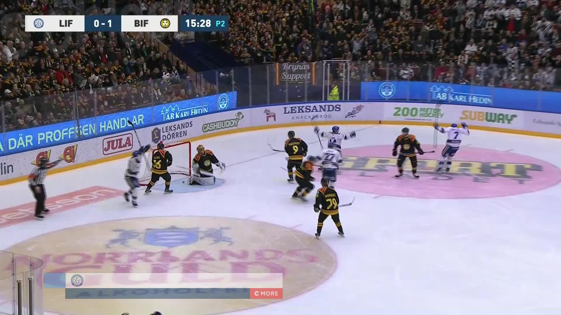 Leksands IF - Brynäs IF 1-1