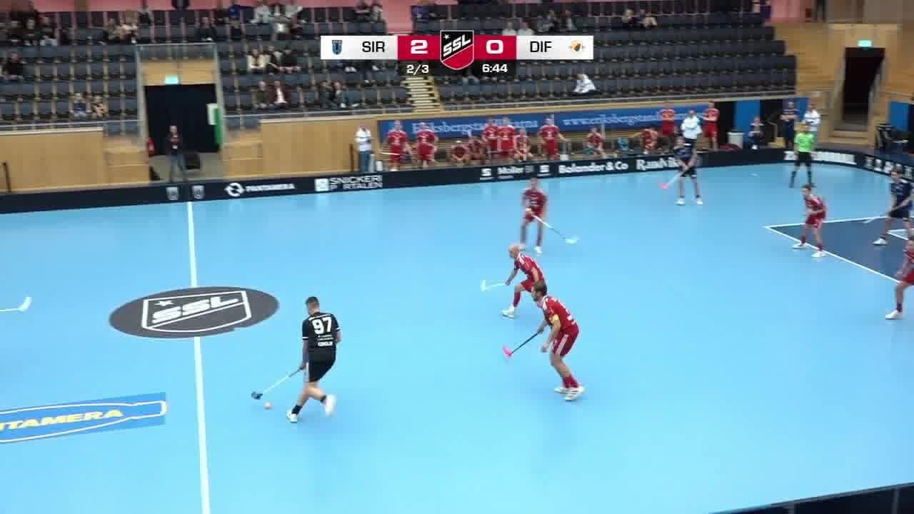 Highlights: Sirius Innebandy-Djurgårdens IF IBS
