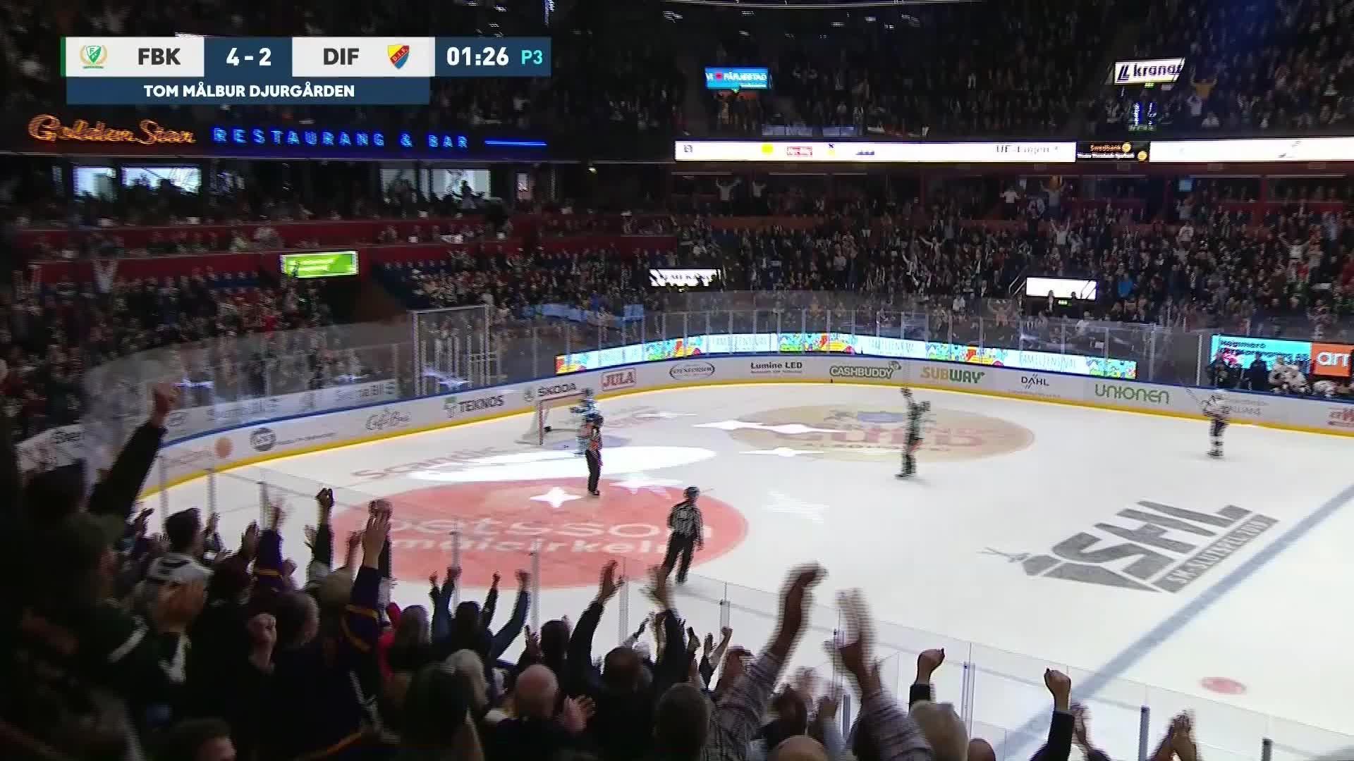 Färjestad BK - Djurgården Hockey 5-2