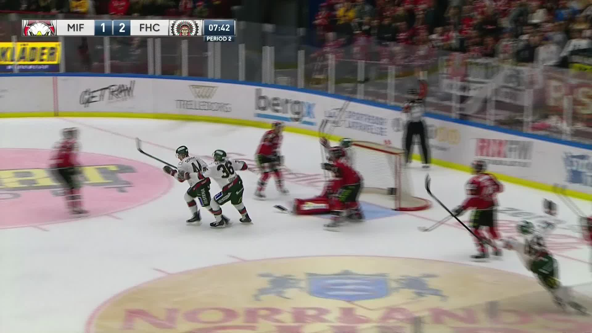 Malmö Redhawks - Frölunda HC 1-3