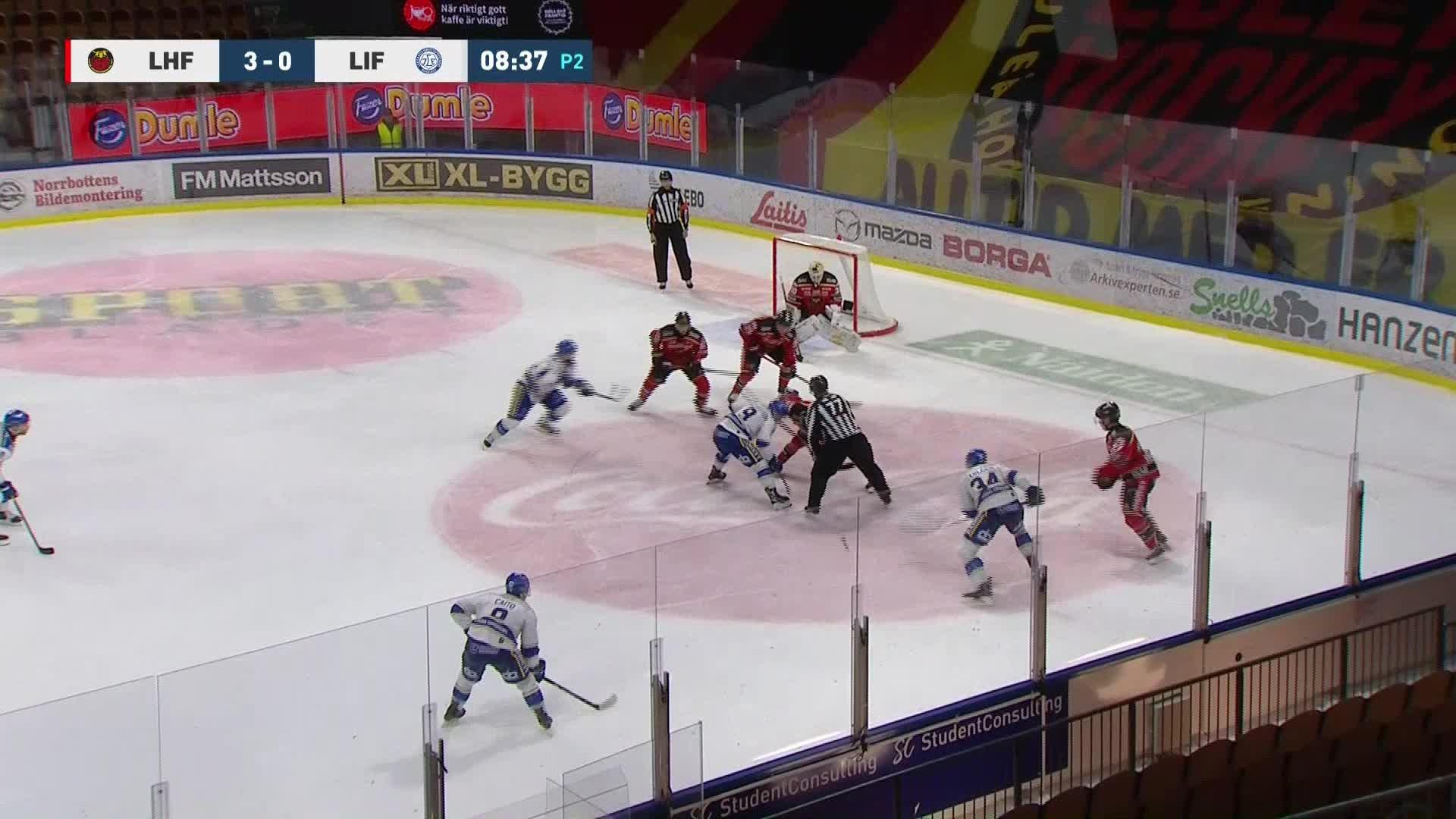 Luleå Hockey - Leksands IF 3-1