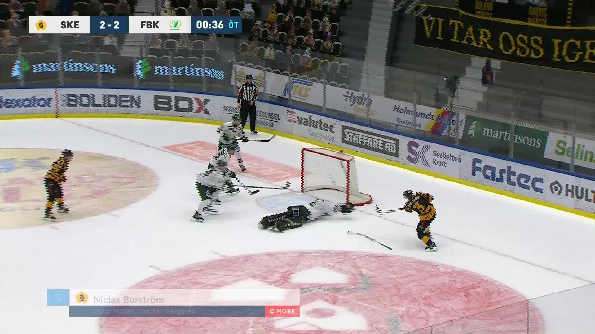 Skellefteå AIK - Färjestad BK 3-2