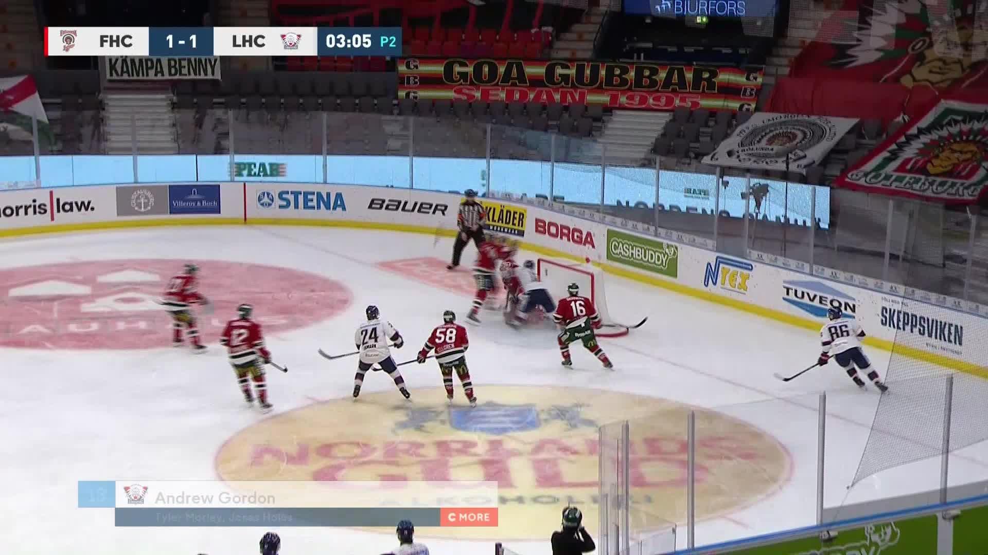 Frölunda HC - Linköping HC 1-2