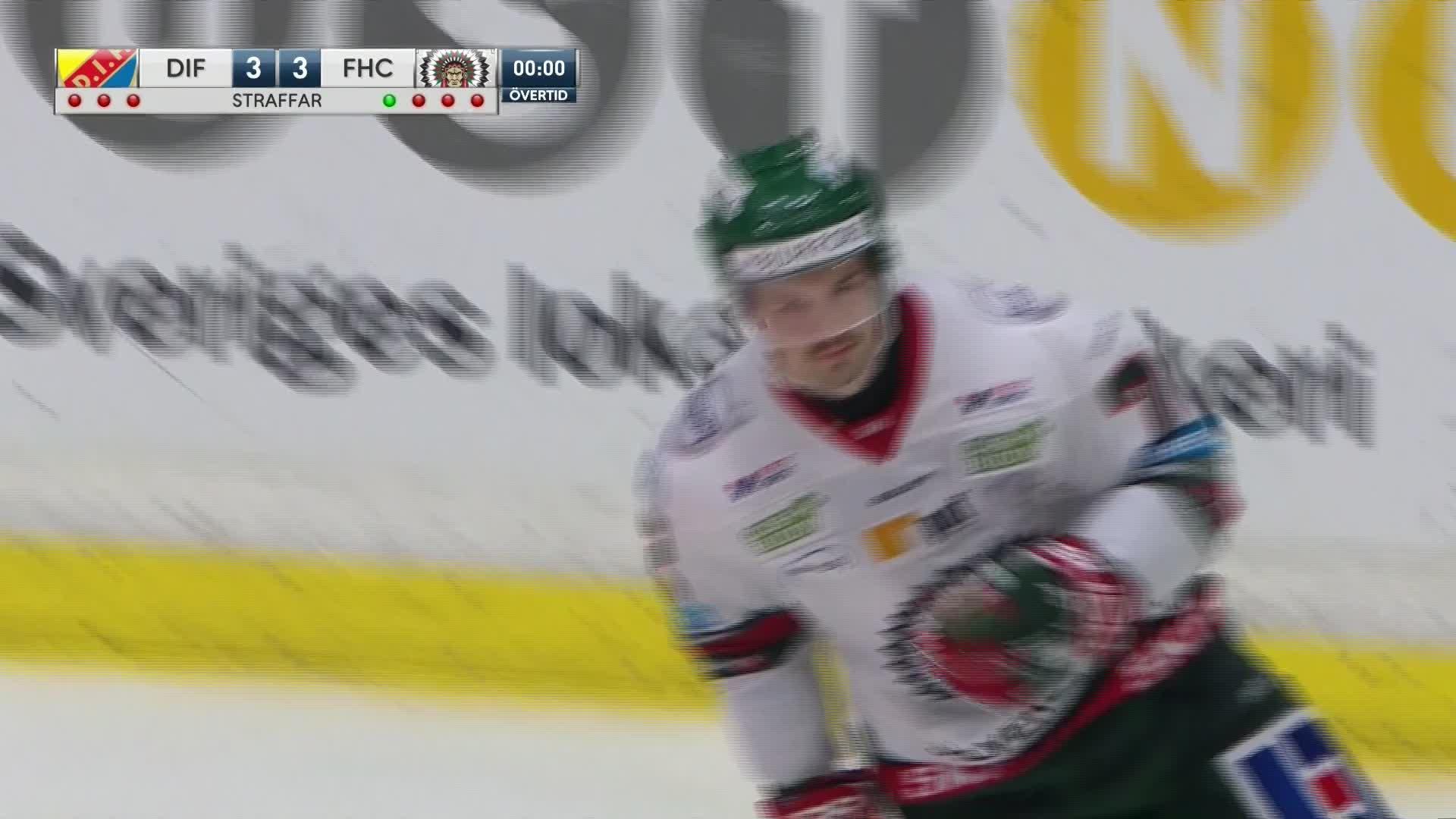 Djurgården Hockey - Frölunda HC 3-4