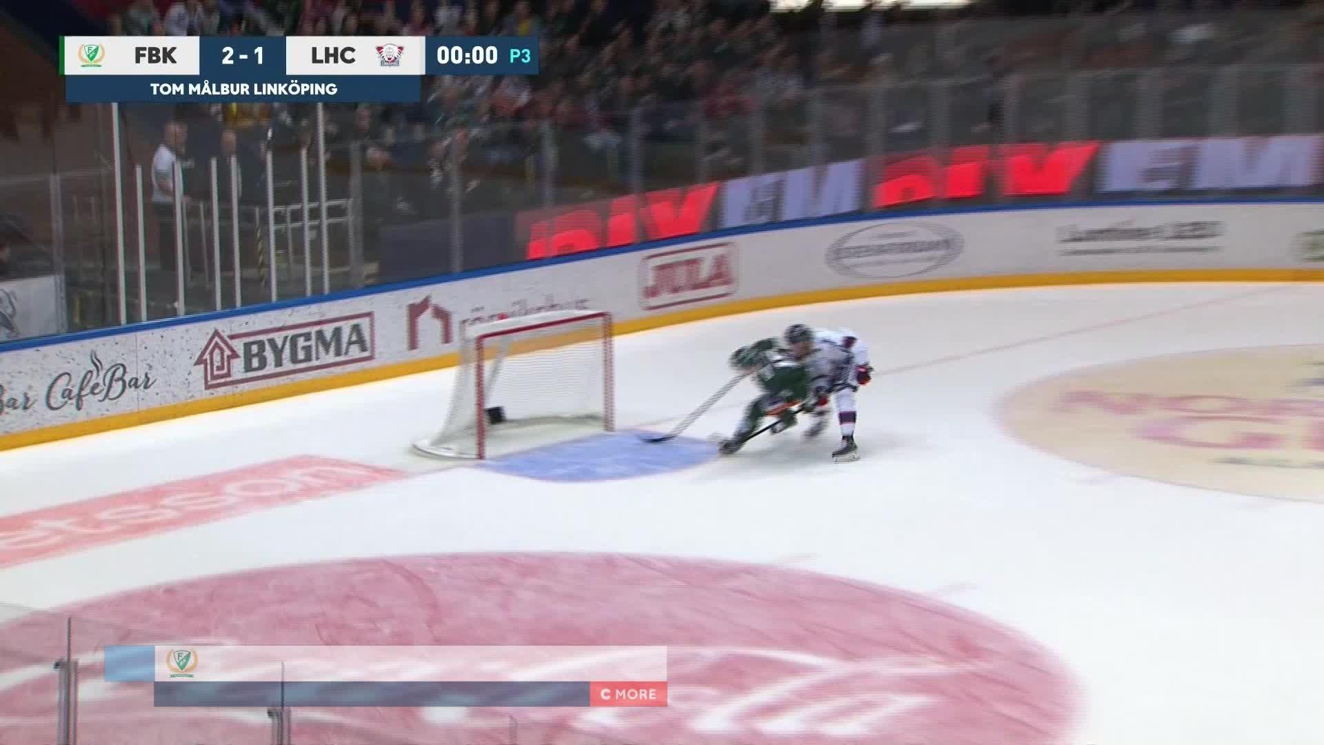 Färjestad BK - Linköping HC 3-1