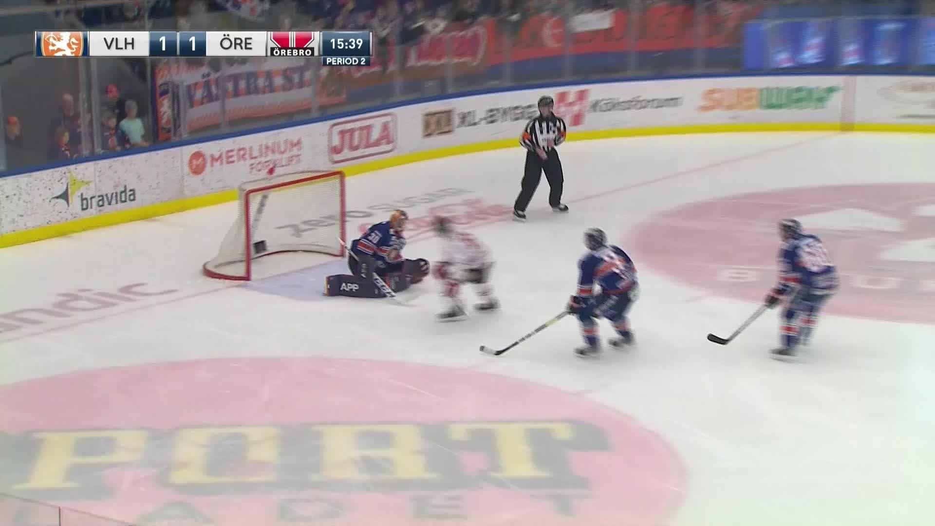 Växjö Lakers - Örebro Hockey 1-2