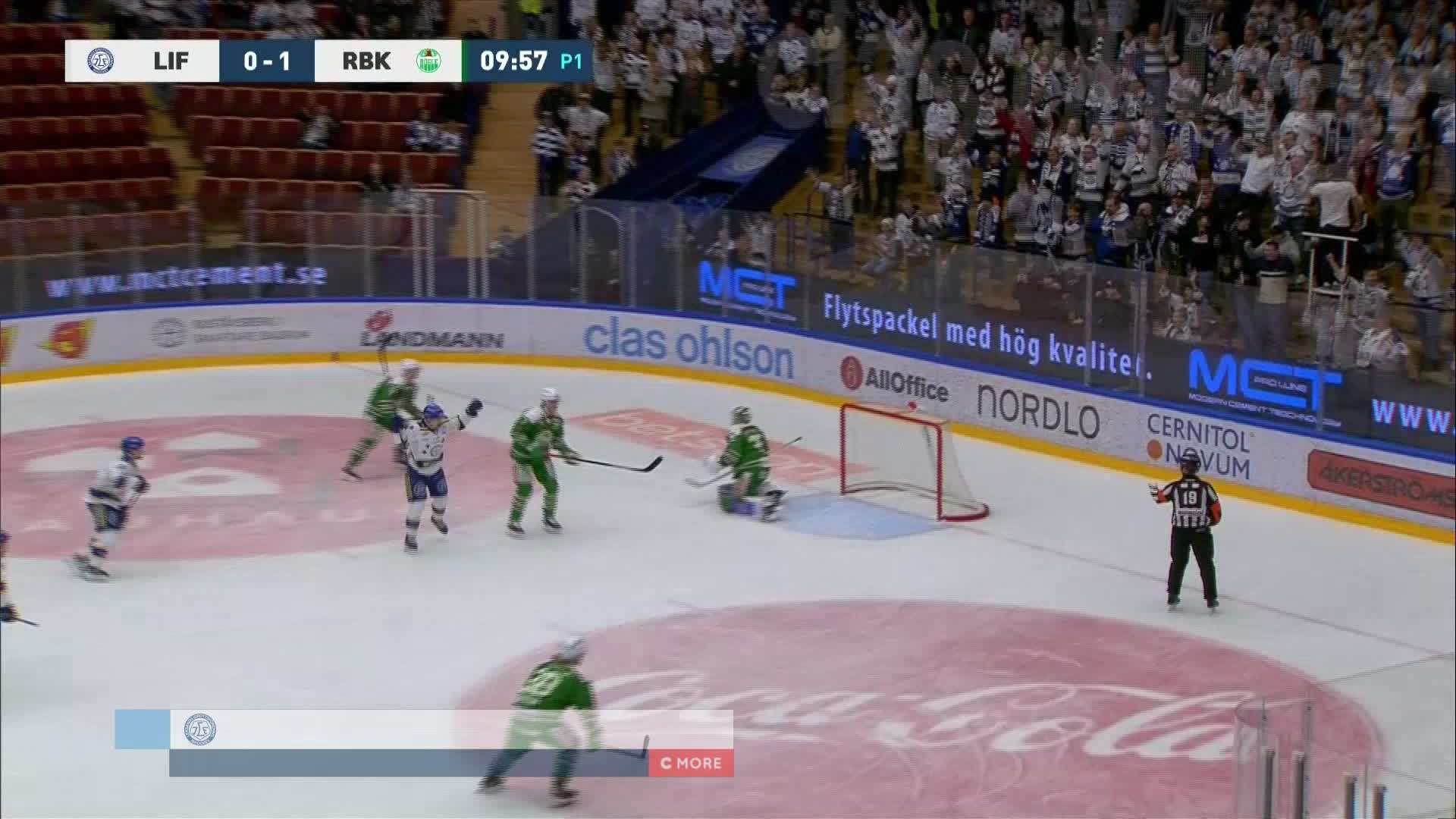 Leksands IF - Rögle BK 1-1