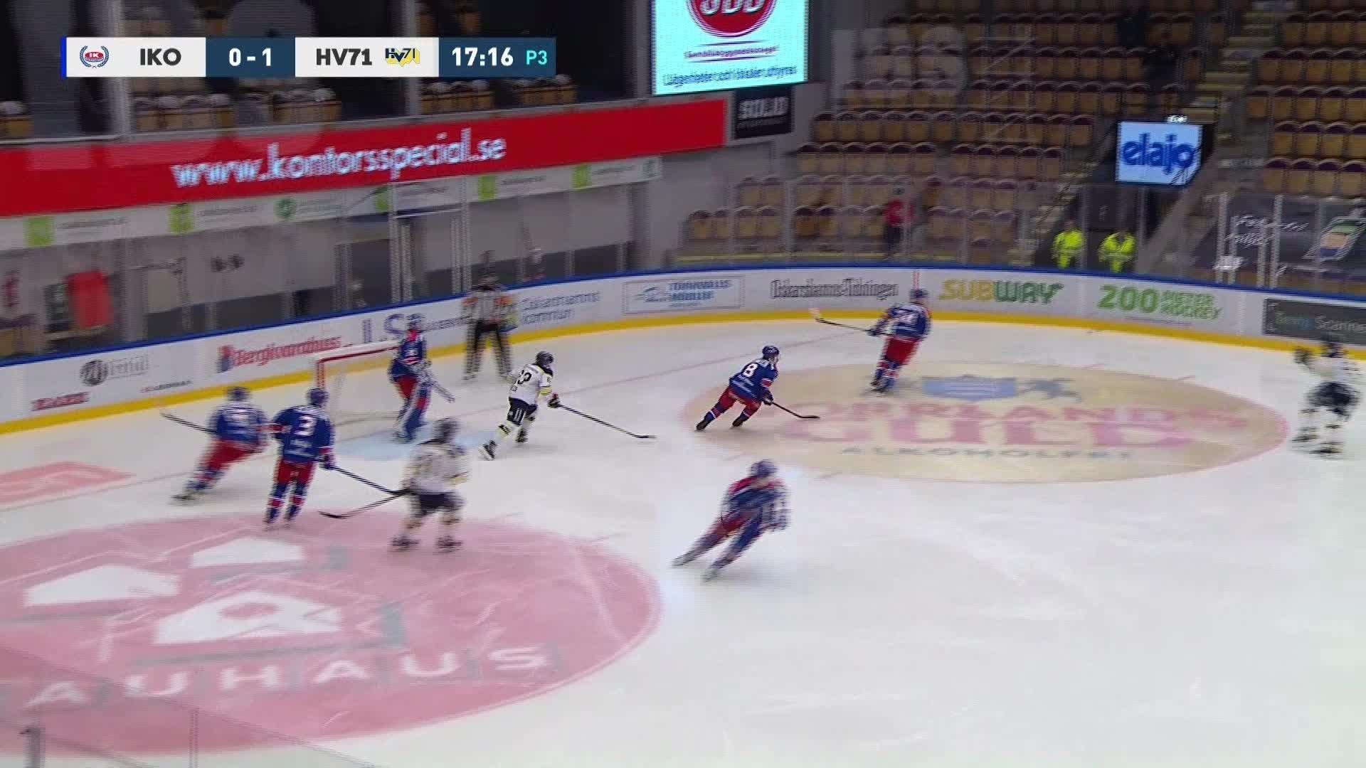 IK Oskarshamn - HV71 1-1