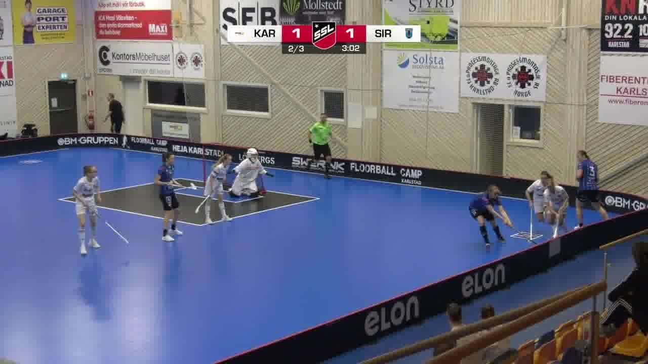 Highlights: Karlstad Innebandy - Sirius Innebandy
