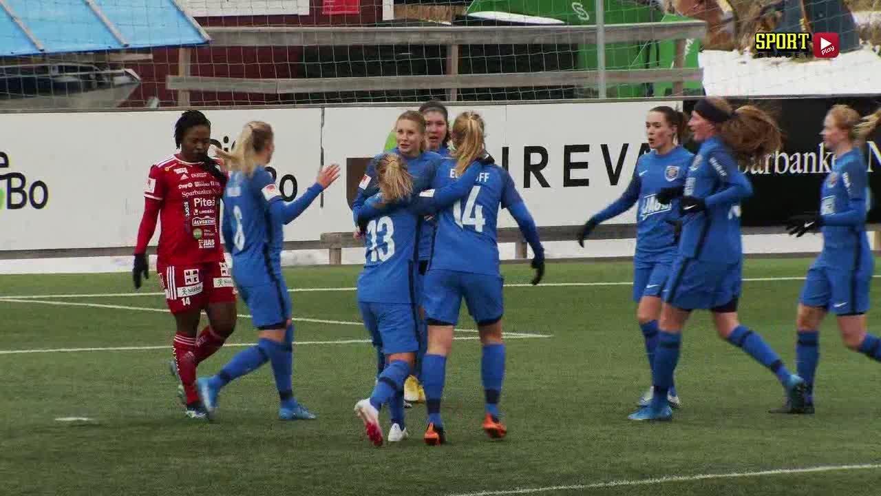 Highlights: Piteå IF DFF – Eskilstuna United DFF