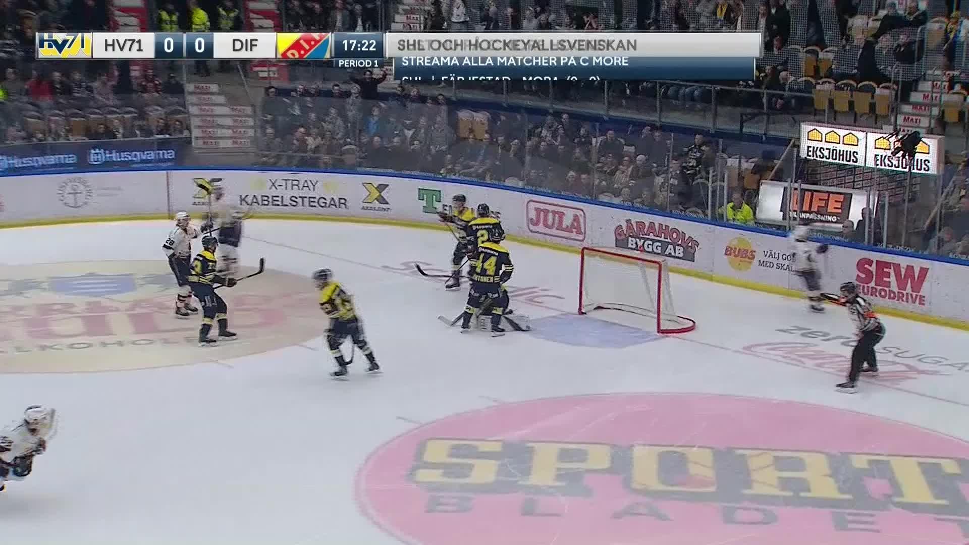 HV71 - Djurgården Hockey 0-1