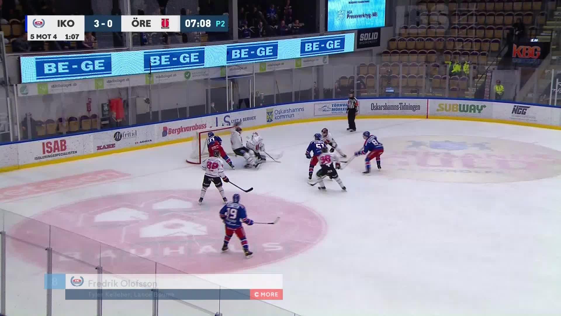 IK Oskarshamn - Örebro Hockey 4-0