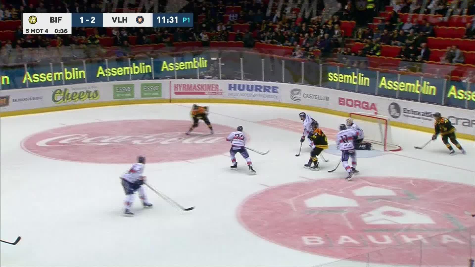 Brynäs IF - Växjö Lakers 2-2