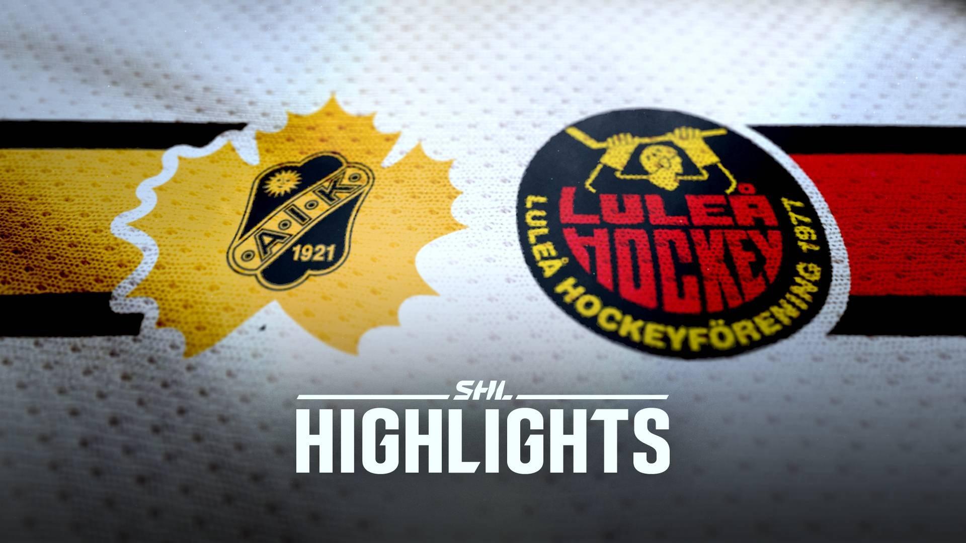 Skellefteå AIK - Luleå Hockey