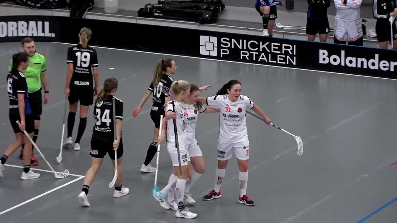 Highlights Sirius Innebandy - Västerås Rönnby IBK