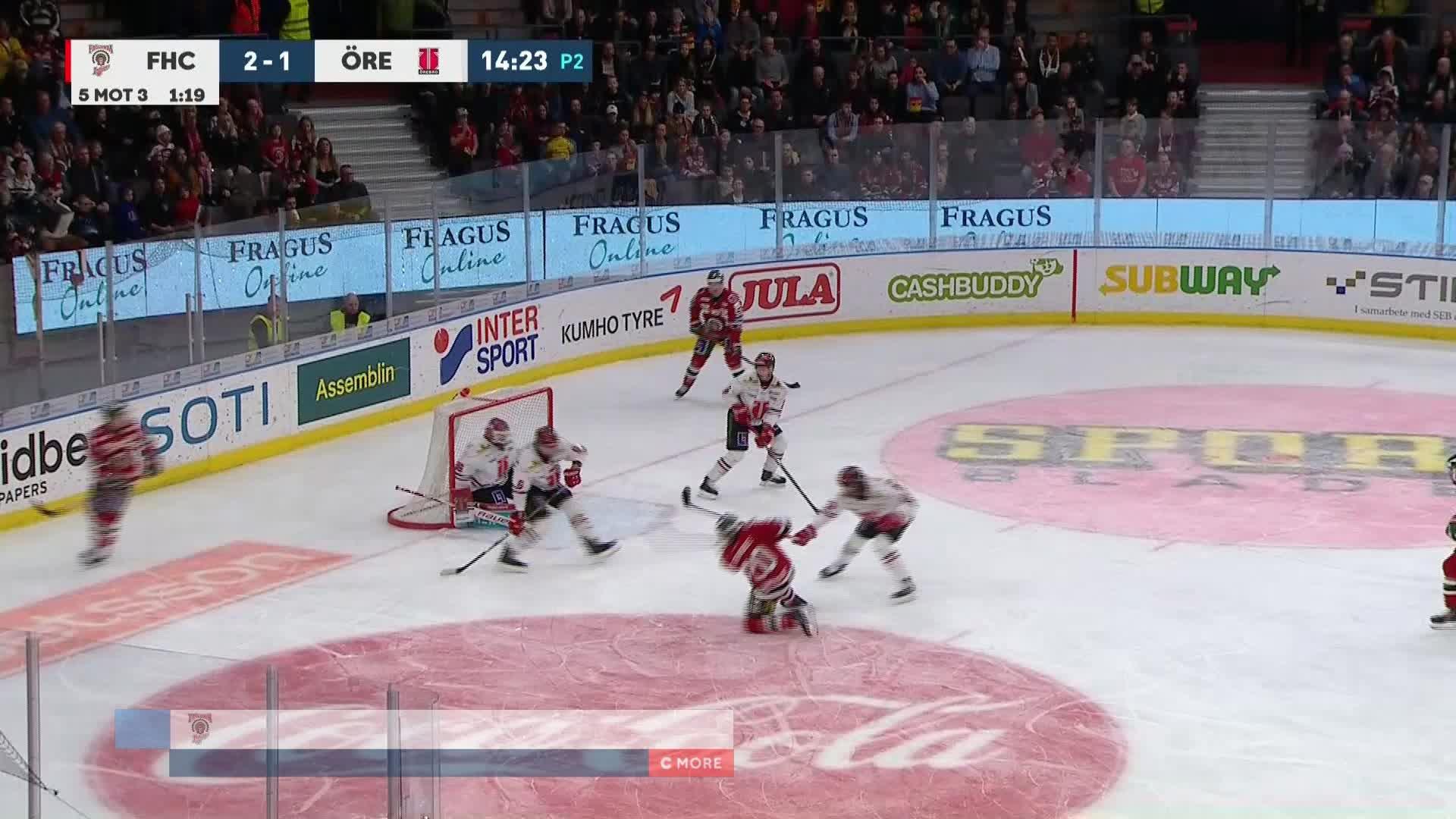 Frölunda HC - Örebro Hockey 3-1