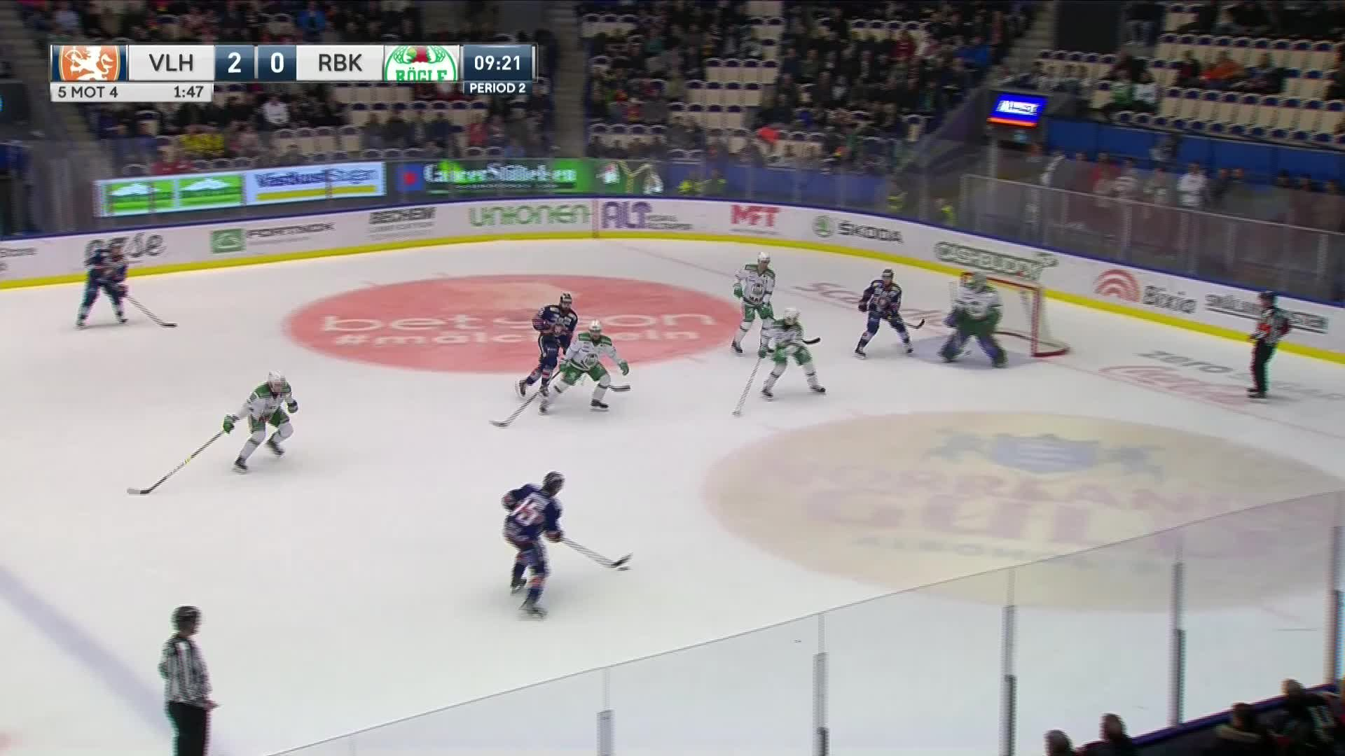 Växjö Lakers - Rögle BK 3-0