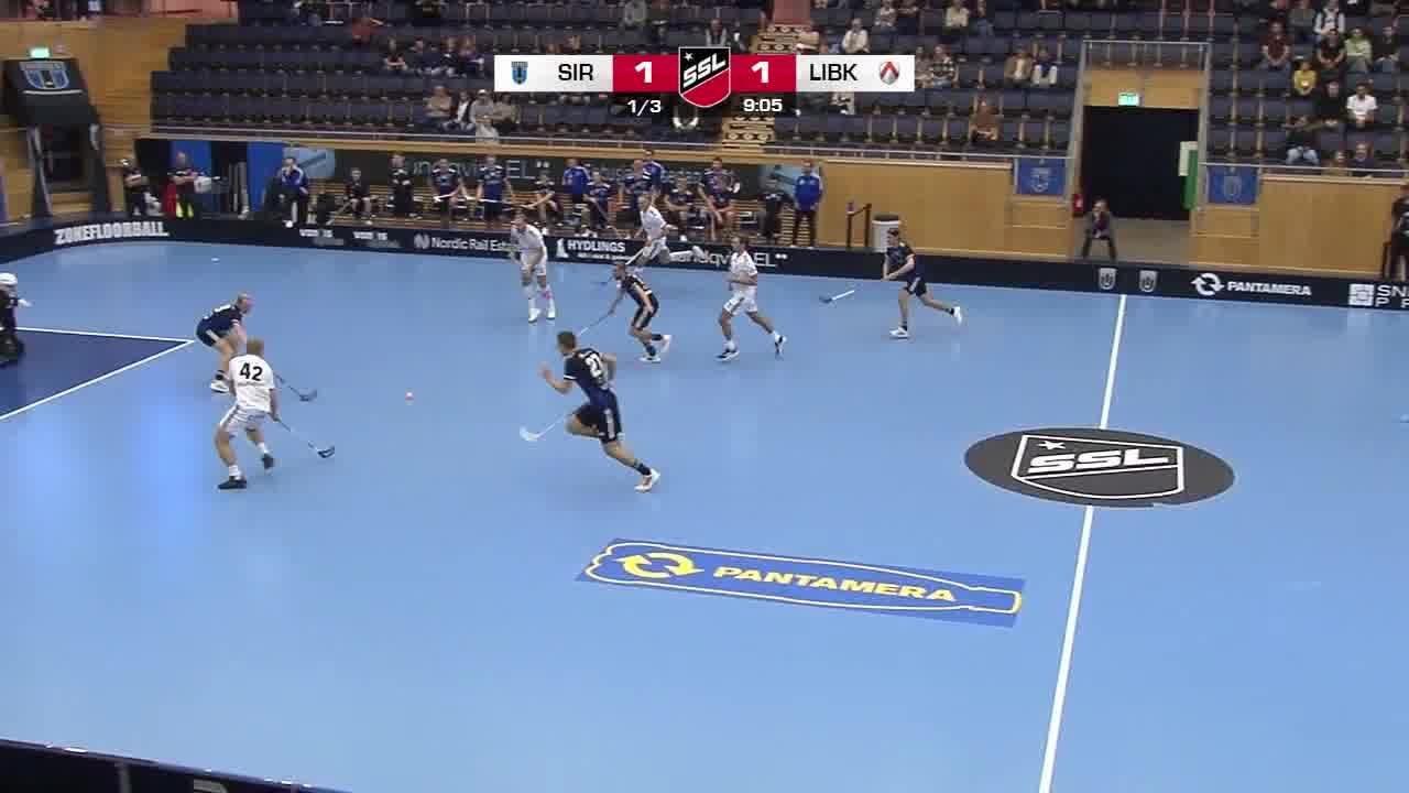 Highlights: Sirius Innebandy-Linköping Innebandy