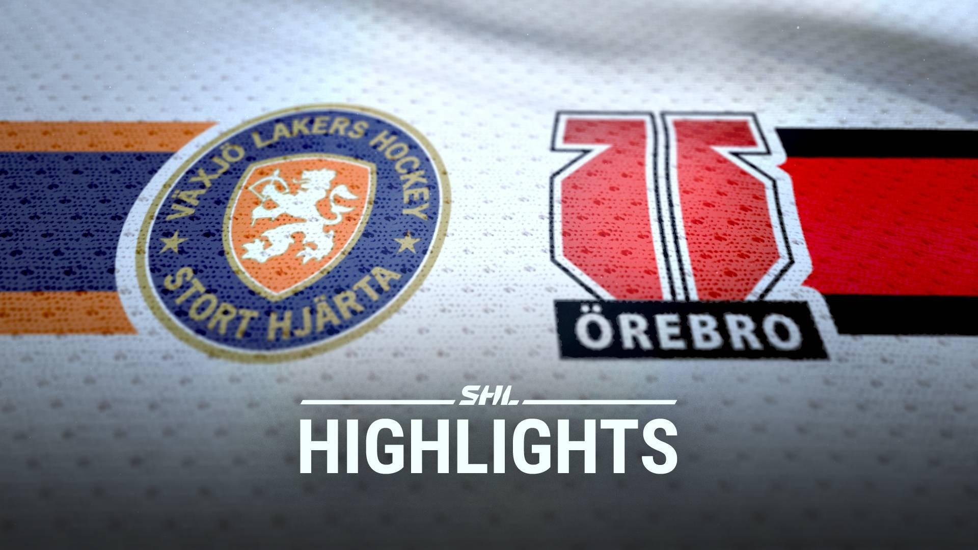 TV: Växjö Lakers - Örebro Hockey