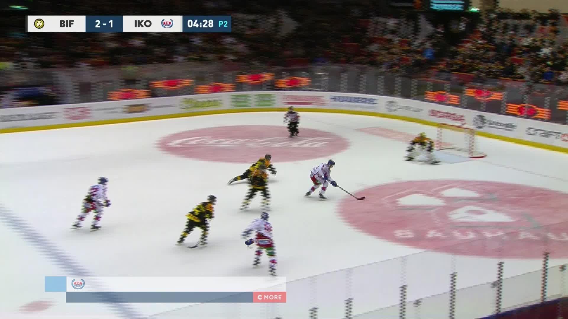 Brynäs IF - IK Oskarshamn 2-2