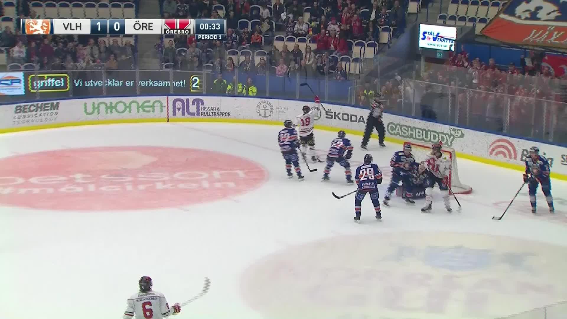Växjö Lakers - Örebro Hockey 1-1