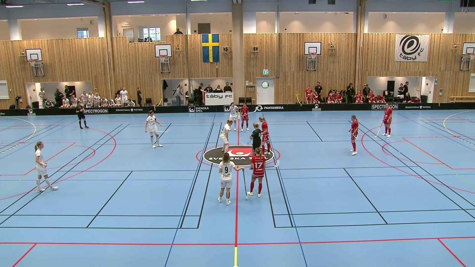 Highlights Täby-Jönköping 9 februari